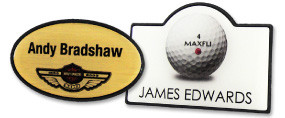 Shape Name Badges | www.namebadgesinternational.ca